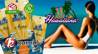 """Profesionāli solāriju sauļošanās krēmi """"Aloha Caribbean - Smooth Tanning Cocktail"""" 3 gab. (15 + 15 + 15 ml). Skaists un noturīgs iedegums!"""