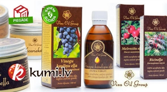 26 veidi: 100% nerafinētas, dābīgas eļļas, izmantojot aukstās spiedes metodi. Dabīgas rūpes par sevis - dabisks, naturāls produkts!