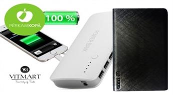 """Vienmēr pilna baterija! Jaudīgs: 20000 vai 35000 mAh; """"Power Bank"""" ārējais akumulators dažādu ierīču uzlādei"""