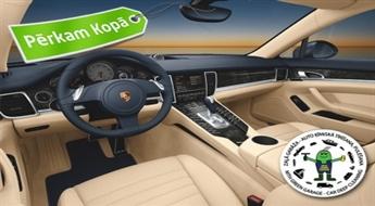 Lai auto valda tīrība un spodrība! Vieglās automašīnas salona ķīmiskā tīrīšana