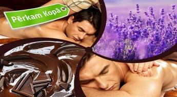 Pasakaini SPA rituāli pārim: kanēļa un lavandas vai rožu un kokosa + dzintara maska (2 h)