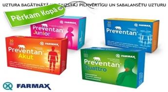 Для иммунитета семьи! Витамины PREVENTAN - для взрослых, детей и беременных
