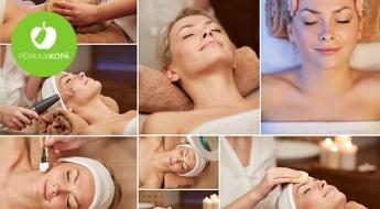 """7 etapu dziļi attīroša un ādas struktūru atjaunojoša procedūra """"Mezo Amber Effect"""" salonā """"Skaistuma Zona"""""""