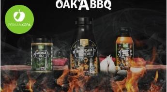 """Radīts Latvijā! """"Oak'A BBQ"""" gardās mērces un garšvielu maisījumi pasakainām maltītēm"""