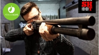 """Izmēģini jaunu pieredzi! Šaušana ar īstiem kaujas ieročiem 1 vai 2 personām šautuvē """"RigaShoot"""""""