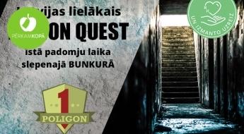 """Latvijas lielākais ACTION QUEST - īstā padomju laika slepenajā BUNKURĀ """"Poligon-1"""" (Siguldā)"""