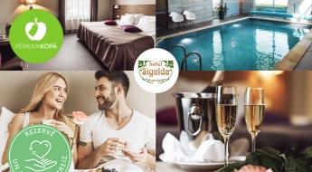 """Atpūta viesnīcā """"Hotel Sigulda"""" pārim - 2 brīnišķīgi piedāvājumi ar nakšņošanu"""