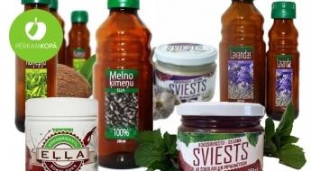 Ražots Latvijā! Auksti spiestas augu, riekstu, sēklu u.c. eļļas vai dažādi sviesti
