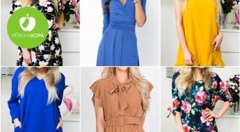 DAUDZ JAUNUMU! Vasarīgas, sievišķīgas un stilīgas kleitas visām gaumēm