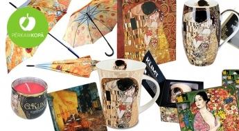 LOTES DĀVANAS - māksla dāvināt! Zīmola CARMANI sadzīves un interjera priekšmeti ar ievērojamu mākslinieku darbu reprodukcijām dāvanu iepakojumā