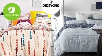 Augstas kvalitātes kokvilnas divpusēji gultas veļas komplekti dažādos izmēros un dizainos
