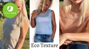 """Radīts Latvijā! """"Eco Texture"""" adīti 100% dabīga lina topi sievietēm dažādās krāsās"""