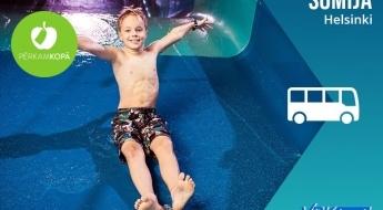Ģimeniska ekskursija! Brauciens uz Helsinkiem ar iespēju apmeklēt Somijas zinātnes centru un ūdens atrakciju parku 13.07.-14.07.