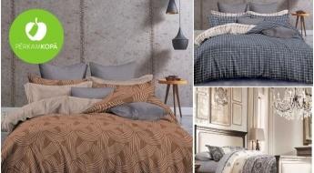 Saldākam miegam! Augstas kvalitātes kokvilnas divpusēji gultas veļas komplekti
