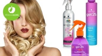 Nodrošini pilnvērtīgas rūpes par matiem ar kvalitatīvajiem SCHWARZKOPF līdzekļiem – lakām, putām vasku u.c.