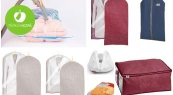 IZPĀRDOŠANA! Apģērbu somas, vakuuma un mazgāšanas maisi