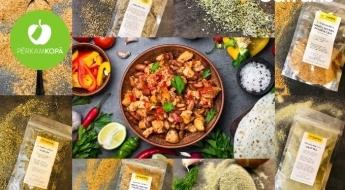 Garšvielas! 7 universāli garšvielu maisījumi un 3 komplekti īpaši gardām maltītēm