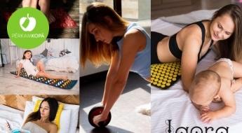Dažādi akupresūras paklājiņi gan pieaugušajiem, gan bērniem un palīglīdzekļi treniņiem