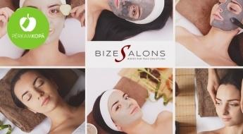 8 etapu sejas attīrīšanas un kopšanas procedūra: pīlings, ultraskaņa, kriomasāža, maska u.c.