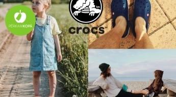 CROCS oriģinālās sandales un iešļūcenes visai ģimenei dažādās krāsās