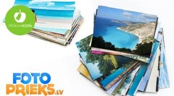 Fotogrāfiju izdruku LIELĀ IZPĀRDOŠANA - iegūsti 10, 100, 200 vai pat 300 bildes