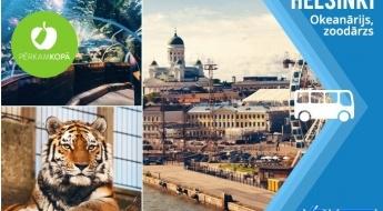 Pavadi ziemīgu dienu Helsinkos, ar iespēju par papildu samaksu apmeklēt okeanāriju un Helsinku zoodārzu 21.-22.12.