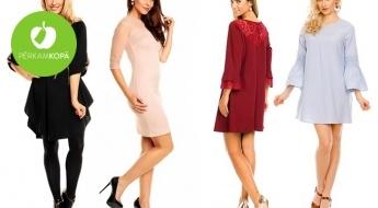 Valdzinošas kleitiņas dažādām gaumēm! Izvēlies modeli ar mežģīnēm, volānu piedurknēm u.c.