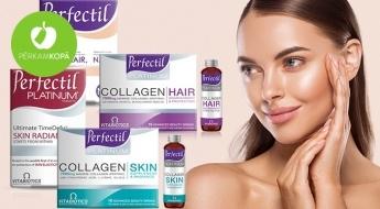 """""""Perfectil"""" skaistuma vitamīni un minerālvielas veselīgam ādas, matu un nagu izskatam"""