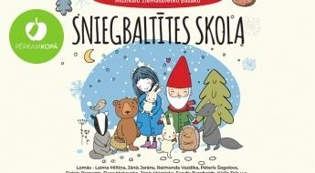 """Muzikāla Ziemassvētku pasaka """"Sniegbaltītes skola"""" + bērnu diskotēka Ķīpsalas hallē 29.12.2019."""