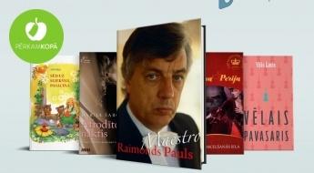 """IZPĀRDOŠANA! """"Gramatuplaukts.lv"""" piedāvā: grāmatas visai ģimenei"""