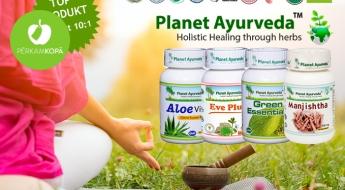 """""""Planet Ayurveda"""" uztura bagātinātaji skaistumam, veselībai un enerģijai"""