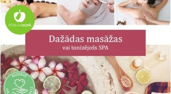 Dažādu ķermeņa zonu masāžas vai relaksējoši SPA rituāli salonā JUVENTA