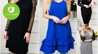 JAUNUMI! Sieviešu kleitas dažādām gaumēm - līdz pat 5XL izmēram