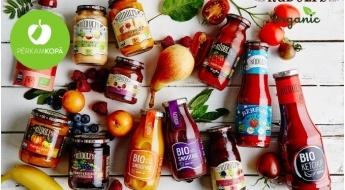 """Ražots Latvijā! """"Rūdolfs"""" BIO produkcija: gardie augļu un dārzeņu krēmi, ievārījumi, smūtiji un kečupi"""