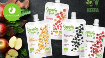 Radīts Latvijā! Gardie un veselīgie SIMPLY FOOD bio biezeņi - 100% dabīgs produkts