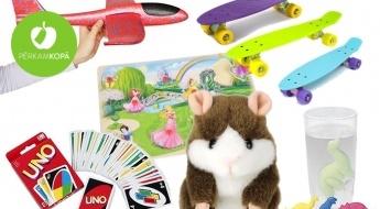Tavam bērnam patiks! Rotaļlietu, galda spēļu, konstruktoru u.c. preču lielā izpārdošana