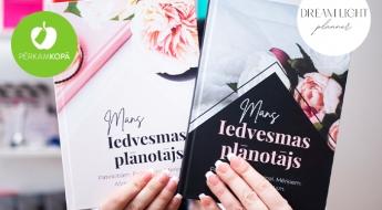 """RADĪTS LATVIJĀ! """"Dream Light Planner"""" iedvesmas, mērķu u.c. rokasgrāmata sievietēm"""