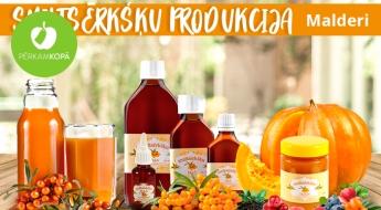 """Ražots Latvijā! Veselīgās """"Malderu"""" smiltsērkšķu eļļas, želejas, ziedes u.c. produkti"""