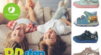 Izvēlies kvaltāti! D.D. STEP apavi bērniem - sandeles, brīvā laika apavi un zābaki