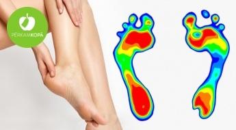 Pēdu noslodzes diagnostika + podiatra konsultācija + supinatoru piemeklēšana