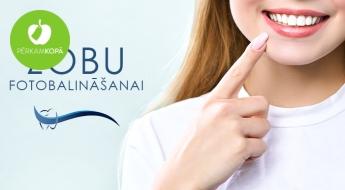 45% atlaide zobu fotobalināšanas procedūrai ar saudzīgo un efektīvo OFFICE metodi