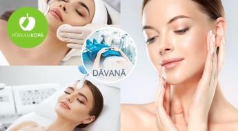 11 etapu sejas procedūra: ādas attīrīšana + liftinga masāža + hialuronskābes gela ievadīšana u.c. DĀVANĀ limfodrenāžas zābaku procedūra!