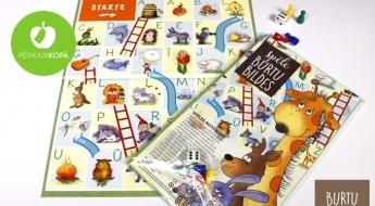 """Radīts Latvijā! Attīstoša galda spēle """"Burtu bildes"""" - aizraujošai alfabēta apguvei"""