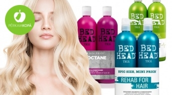 Ideāla dāvana profesionālai matu kopšanai! TIGI šampūnu + kondicionieru komplekti (2 x 750 ml)