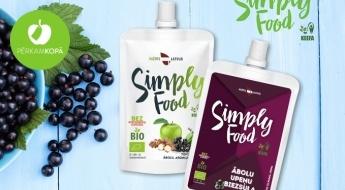 Radīts Latvijā! Gardie un veselīgie SIMPLY FOOD bio biezeņi un biezsulas - 100% dabīgs produkts