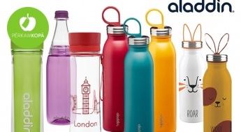 Nesatur BPA! Hermētiskas ūdens pudeles vai pudeles-termosi karstiem un aukstiem dzērieniem