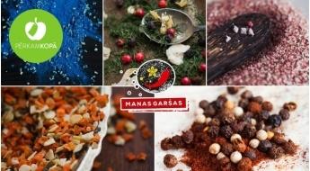 Burvīgi garšvielu maisījumi - mazsālītam lasim, gaļas ēdieniem, maizītēm un mocarella sieram