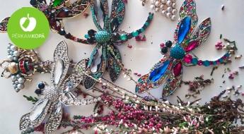 Greznas piespraudes ar spīdumiņiem un pērlītēm - 6 skaisti dizaini