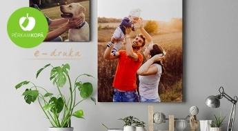 Izcel viskrāšņākos mirkļus! Dažādu izmēru foto kanvas Tavā interjerā vai mīļai dāvanai