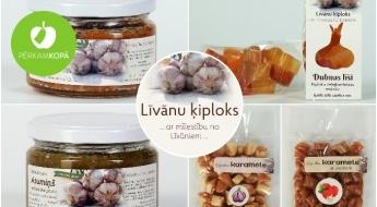 """Radīts Latvijā! Līvānu spēks ķiplokos - mājražotāja """"Līvānu ķiploks"""" piedevas ēdieniem un konfektes"""